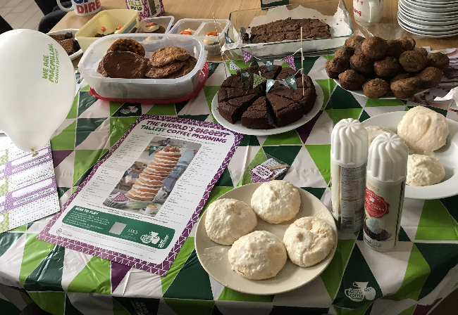 ECA take part in MacMillan's 'cake-off' for charity