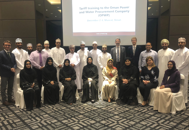 ECA and ERRA provide tailored electricity market training in Oman