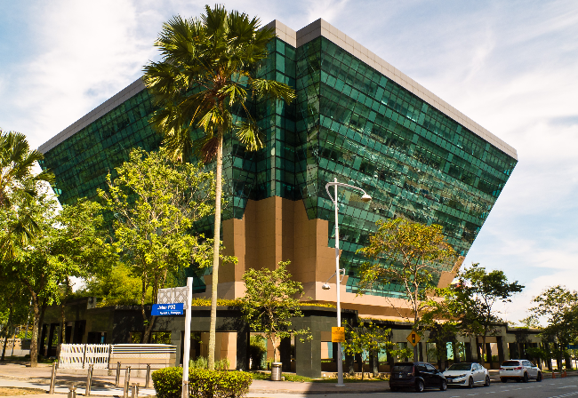 exterior of the building Energy Commission Malaysia