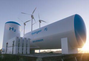 Hydrogen wind turbines zero emission