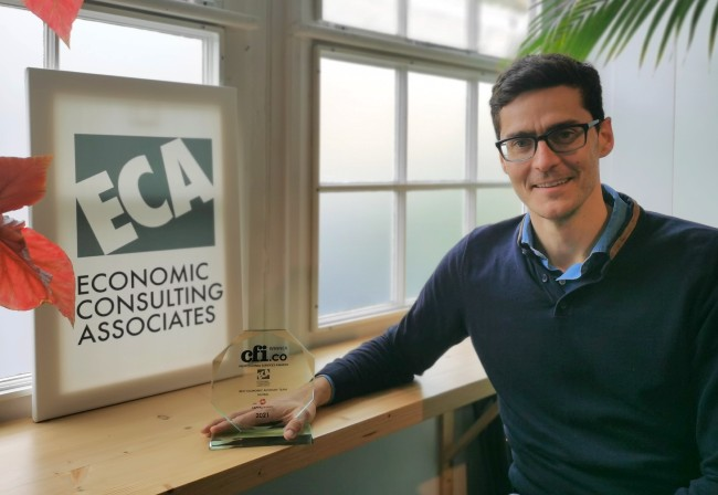 ECA wins Best Economics Advisory Team 2021 award